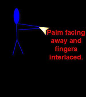 hand stretchnig-excercise