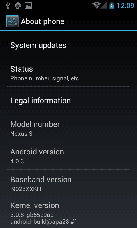 Android ICS 4.0