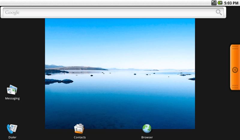 Android x86 Desktop ICS