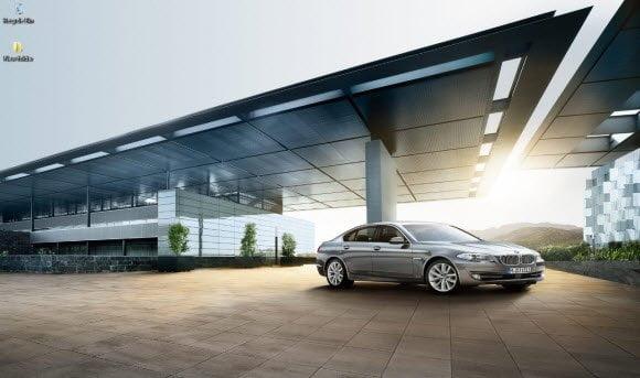 BMW 5-Series Theme for Windows 7