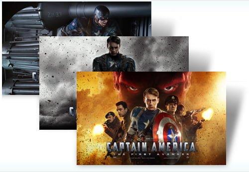 Captain America Windows 7 Theme
