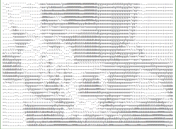 Create Ascii Art Windows 10