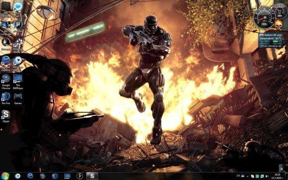 Crysis 2 Windows 7 Theme