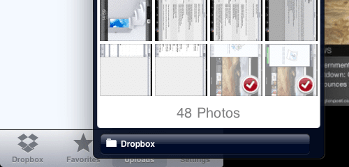 Dropbox Bulk Upload