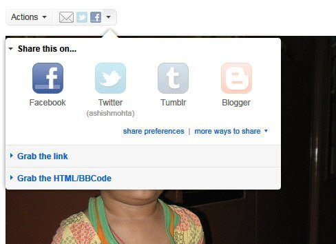 Flickr Adds Social Sharing Feature