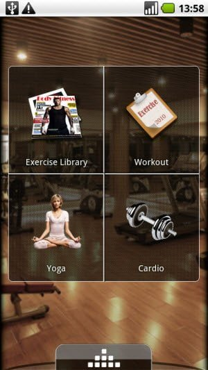 Free Body Fitness application for Android