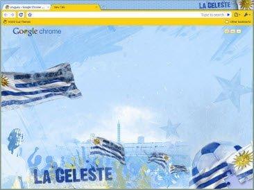 Free Download Uruguay theme for Google Chrome