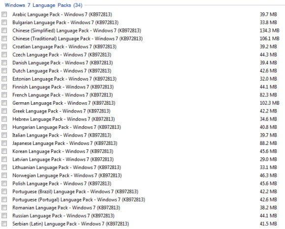 Free Download Windows 7 Enterprise and Windows 7 Ultimate Language Packs