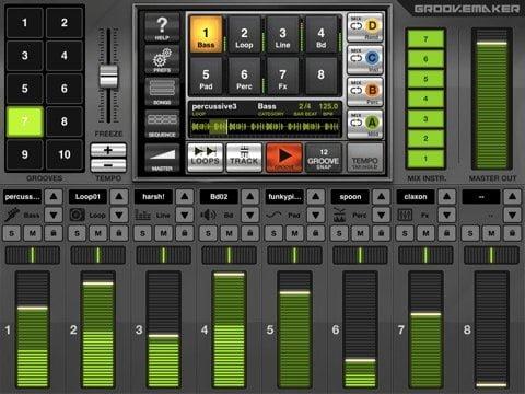 Free iPad app to remix songs like professional DJ