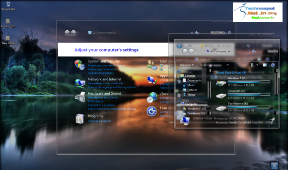 Full Glass theme for Windows 7 Free Download