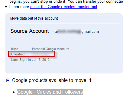 Gmail Account Created Date