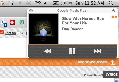 Google Music Last FM