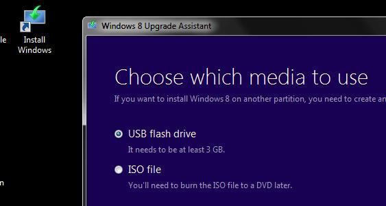 How to restart Windows 8 Upgrade