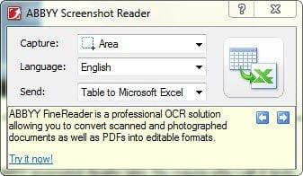 Instant OCR of any screenshot free OCR Desktop application