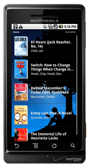 Kindle comes to Android Kindle for Android