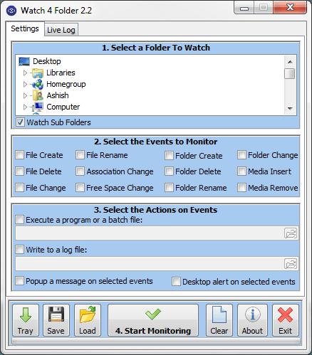 Live Folder Watch