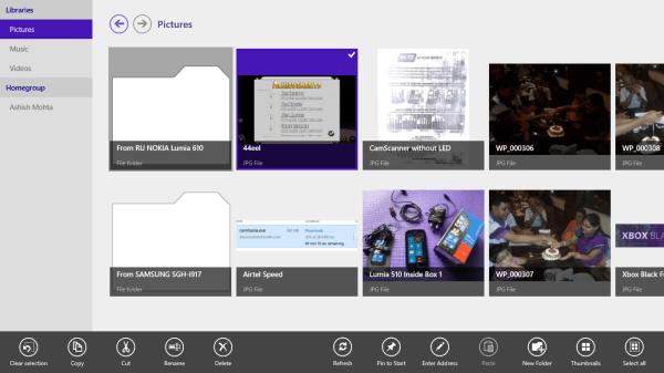 Local Files Windows 8 App