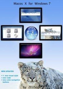 Mac OSX Leopard Theme