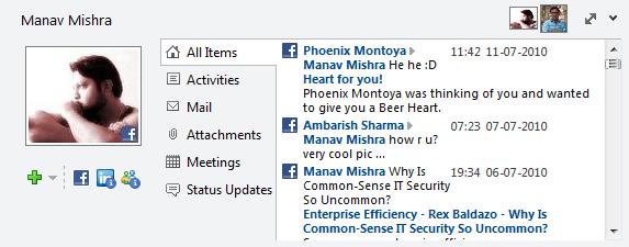 Manav Social Connector