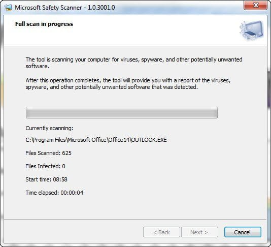 Microsoft Security Scanner