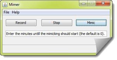 Mimer Record Steps