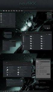 Download Windows 7 Black Themes