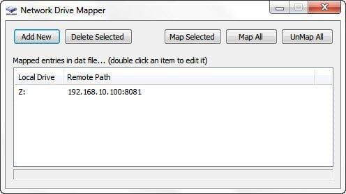 Network Drive Mapper