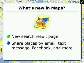 New in Google Maps