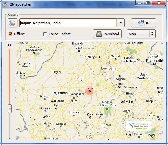 Offline Google Maps Search