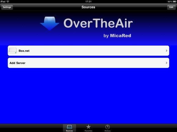 OvertheAir Webdav Server List