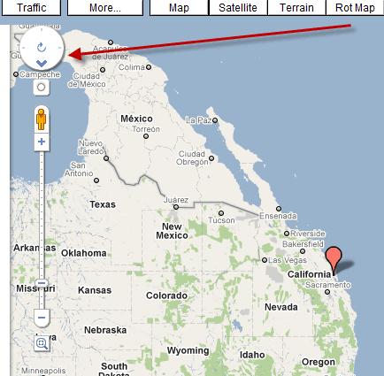 Rotate Map Google Maps