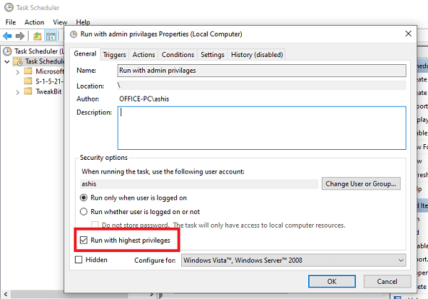 How to launch Programs as Administrator in Windows 10
