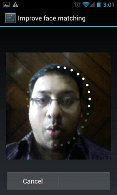 Setting up Facelock on Nexus S