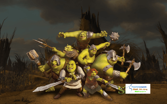 Now ths a complete Orge Gang