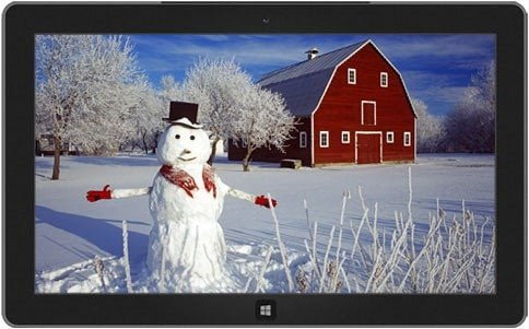 Snowman Theme for Windows 8