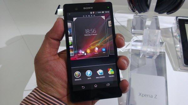 Sony Xperia Z Mobile