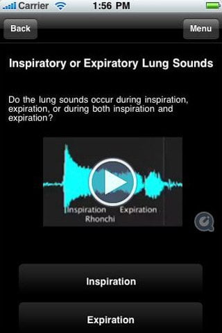 Stethoscope Expert ipad iphone ipod touch app for doctors medical students etc.