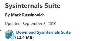 Sysinternal Tools