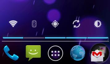 Transparent Power Widget