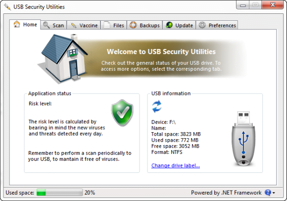 USB Security Home