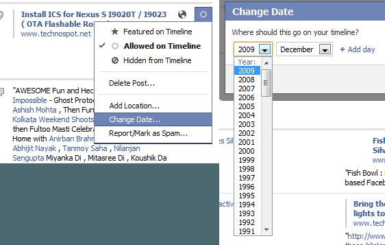 Updating TImeline Status