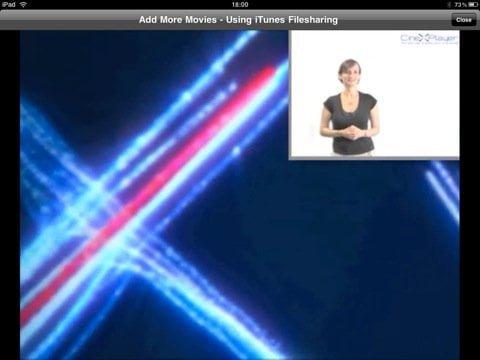 Watch Xvid Movies on iPad CineXPlayer