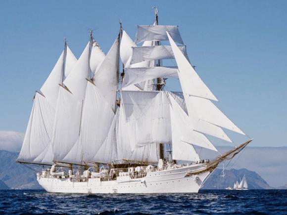 White beauty ship