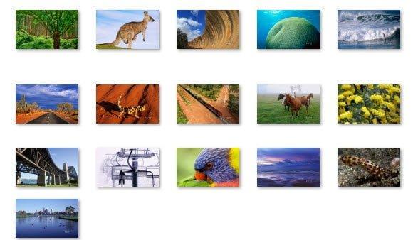 Windows 7 Australia Theme