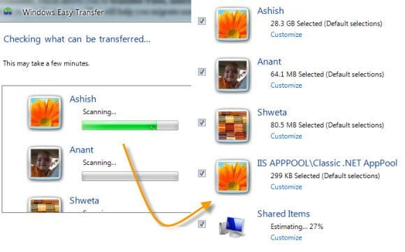 Windows 7 Easy Transfer Tool