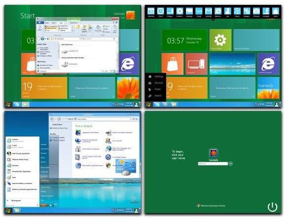 Windows 8 Theme for XP