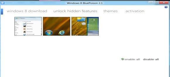 Windows 8 Unlock Features