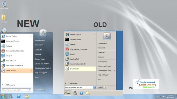 Windows Server 2008 R2 Aero Glass