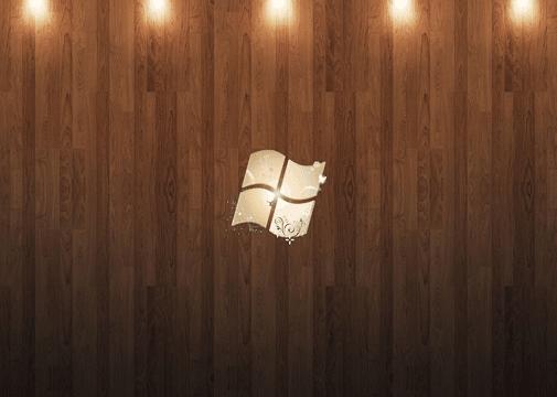 Windows 7 Ultimate Wood