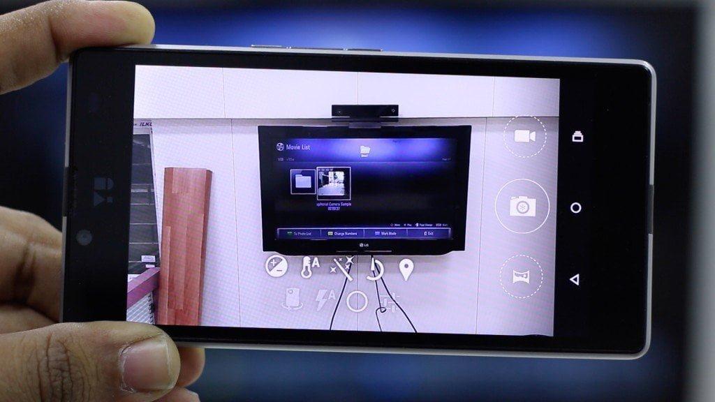 Yuphoria Camera Review Interface